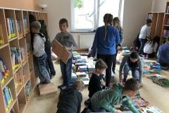 Arbeiten in der Bücherei